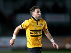 On-loan Exeter winger Robbie Willmott can not play against parent club Newport (Nigel French/PA)