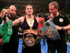 Katie Taylor still has plenty more she wants to achieve in her record-breaking career (Nick Potts/PA)