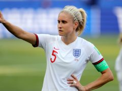 Steph Houghton wants England to top their World Cup qualifying group (Richard Sellers/PA)