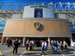 Leeds have reported operating losses of over £64million for last season (Mike Egerton/PA)