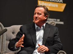 David Cameron formally joined Greensill as an adviser in 2018 (Jacob King/PA)