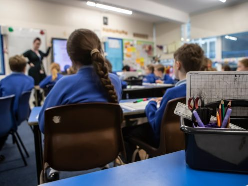 Gavin Williamson said more needs to be done to improve teacher training (Danny Lawson/PA)
