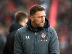 Ralph Hasenhuttl takes Southampton to Tottenham on Wednesday (Mark Kerton/PA)