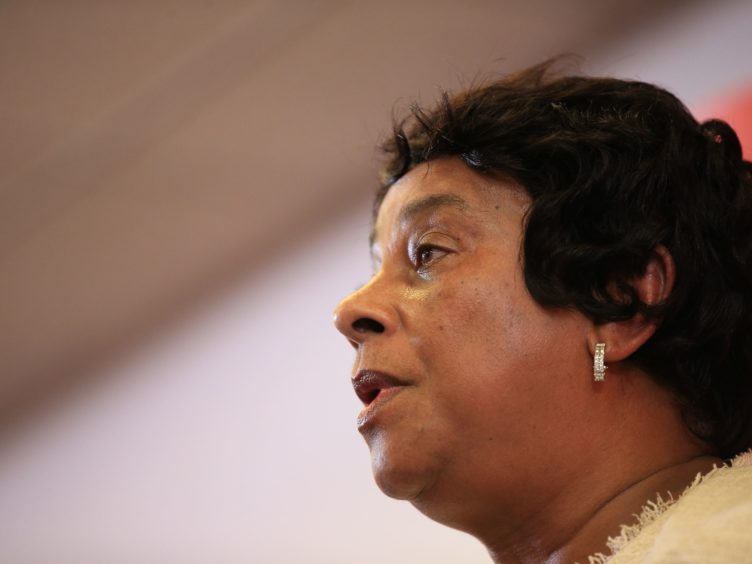 Baroness Doreen Lawrence said the report gives a green light to racists (Peter Byrne/PA)