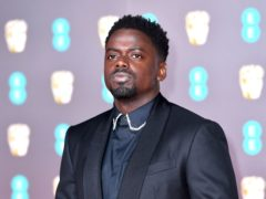 Daniel Kaluuya poked fun at the Duke and Duchess of Sussex's race allegations against the royal family during an appearance on US TV (Matt Crossick/PA)