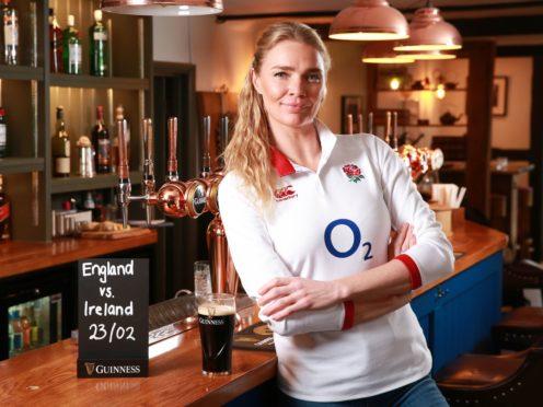 Jodie Kidd in her pub, The Half Moon (Matt Alexander/PA)