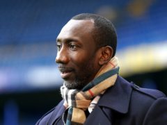 Burton boss Jimmy Floyd Hasselbaink was happy with his side's showing at Accrington (John Walton/PA)