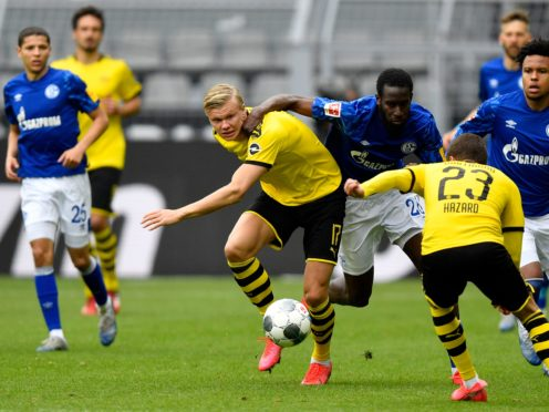 Manchester City are preparing to come up against Erling Haaland (Martin Meissner/POOL)