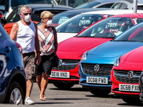 Car dealership Lookers said that, despite lockdown measures, profits will be ahead of expectations (Peter Byrne/PA)