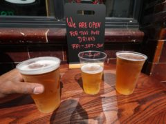 The SBPA has criticised the decision for licensed premises being unable to sell takeaway drinks this Easter (Yui Mok/PA)