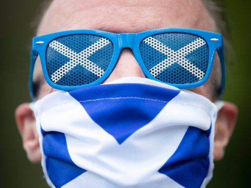 A poll suggests 42% of people would vote Yes in a Scottish independence referendum, and 49% would vote No (Jane Barlow/PA)