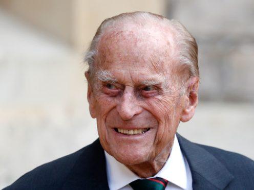 The Duke of Edinburgh (Adrian Dennis/PA)