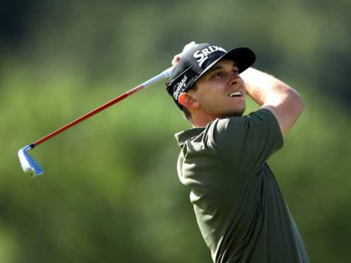 In-form American John Catlin was one shot off the lead in the Tenerife Open (Tim Goode/PA)