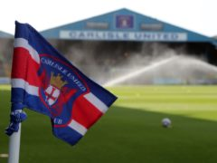 The points were shared at Brunton Park (Richard Sellers/PA)