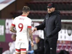 Southampton manager Ralph Hasenhuttl (right) knows the importance of Danny Ings to his team's game (Peter Powell/PA)