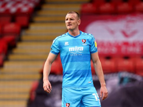 William Boyle scored for Cheltenham (Tess Derry/PA)