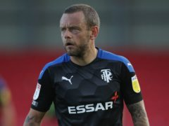 Tranmere will be without Jay Spearing for the visit of Salford (Nick Potts/PA)
