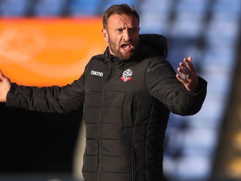 Ian Evatt's Bolton were beaten at Newport (Nick Potts/PA)
