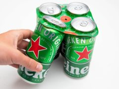 Beer giant Heineken has said UK sales by volume plunged around 30% in the first quarter as pubs remained shut during the lockdown (David Parry/PA)