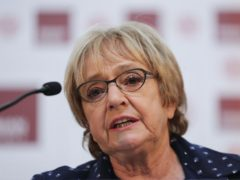 Dame Margaret Hodge had relatives killed in the Holocaust (Yui Mok/PA)