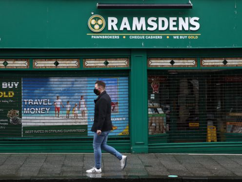 Ramsdens has been hit by a drop in international travel (Andrew MIlligan/PA)