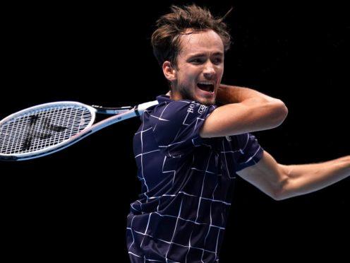 Daniil Medvedev tested positive for coronavirus in Monte-Carlo (John Walton/PA)