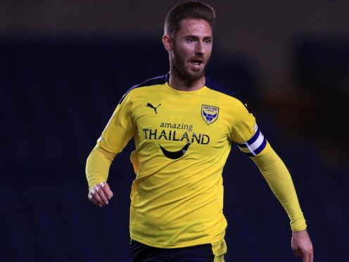 James Henry scored for Oxford (Adam Davy/PA)