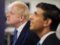 Chancellor Rishi Sunak has defended Boris Johnson after it emerged that the Prime Minister's mobile number had been widely available online for 15 years (Leon Neal/PA)