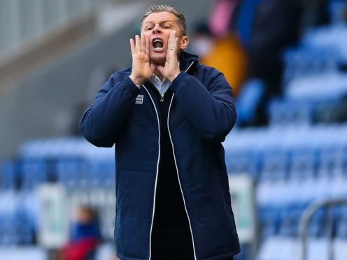Steve Cotterill could be back in charge of Shrewsbury this weekend (Barrington Coombs/PA)