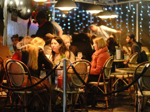 Restaurants are set to start serving customers outdoors from next week (Aaron Chown/PA)