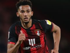 Bournemouth defender Lloyd Kelly has an ankle injury (Andrew Matthews/PA)