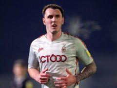 Callum Cooke has missed Bradford's last 10 matches (Mike Egerton/PA)