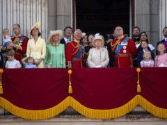 The royal family (Victoria Jones/PA)