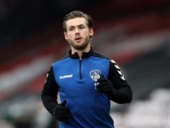Conor McAleny scored twice for Oldham (Kieran Cleeves/PA)