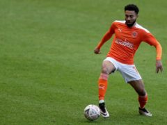 Grant Ward was subjected to racist abuse on social media after Blackpool's 1-0 win at Sunderland on Tuesday (Richard Sellers/PA)