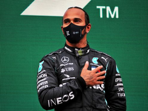 Lewis Hamilton says he is ready to join this weekend's social media blackout (PA)
