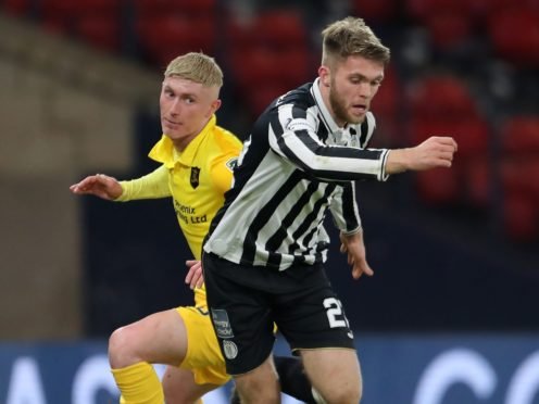 Marcus Fraser and St Mirren were left heartbroken after their Betfred Cup semi-final defeat to Livingston (Jane Barlow/PA)