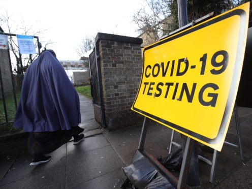 Everyone in England is to be offered free, twice-weekly coronavirus tests (Yui Mok/PA)
