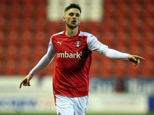 Lewis Wing impressed for Rotherham but could not find a way through (Nigel French/PA)