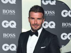 David Beckham (Matt Crossick/PA)