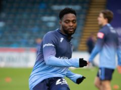 Fred Onyedinma scored for Wycombe (Aaron Chown/PA)