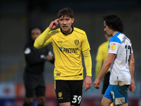 Terry Taylor is pushing to start for Burton on Saturday (Mike Egerton/PA)