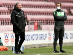 Michael Appleton saw Lincoln's games with MK Dons and Charlton postponed due to an outbreak of coronavirus cases at the club (Tim Markland/PA)