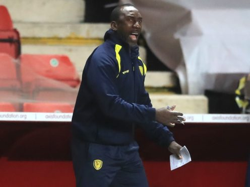 Jimmy Floyd Hasselbaink admitted Burton were made to battle for their win over Swindon (Adam Davy/PA)