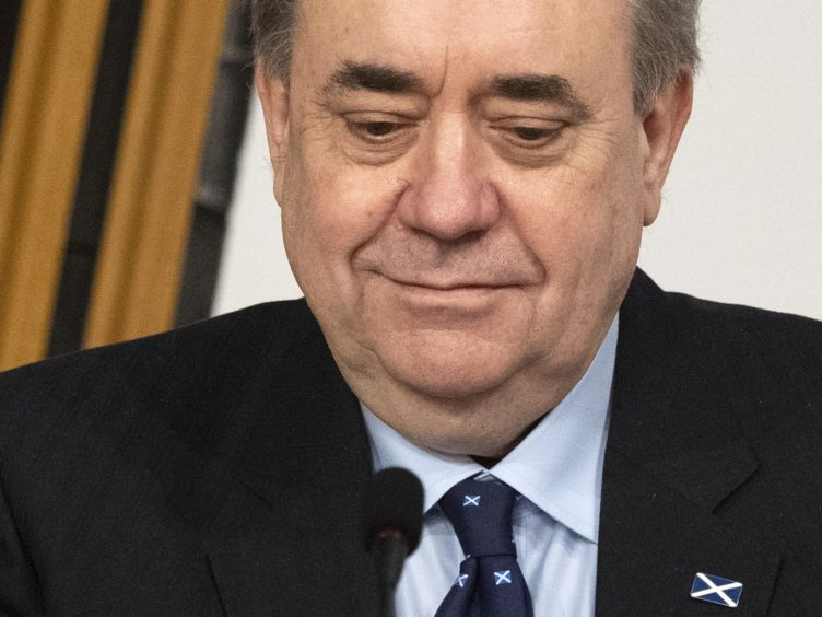The return of former first minister Alex Salmond to Holyrood would be 'desperately sad for the parliament', Jackie Baillie has said (Andy Buchanan/PA)