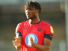 Viv Solomon-Otabor was on the scoresheet for Wigan (Nigel French/PA)