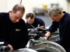 UK manufacturers are at the most optimistic for 48 years amid hopes the economy will rebound (David Davies/PA)