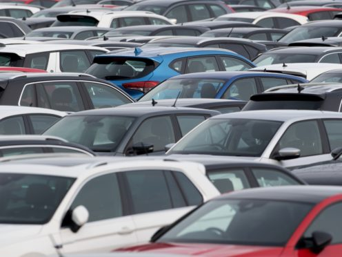 Preliminary figures show demand for new cars growing by 11% last month compared with the same time last year (Joe Giddens/PA)