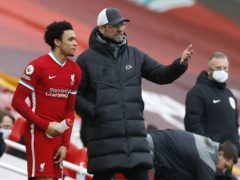 Liverpool manager Jurgen Klopp was surprised by Trent Alexander-Arnold's England omission (Phil Noble/PA)