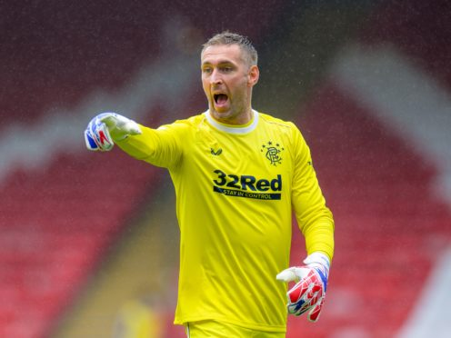 Allan McGregor has signed a new deal (Willie Vass/PA)